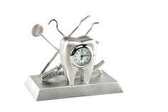 Help the recent Dental school and dental hygienist grad in your life start her or his career off on time! #graduation #gifts #dentist #dentalhygienist -- Dentist Desk Clock – Silver.