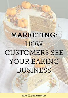 Today I'm asking you to consider how you are presenting your business to your customers. This covers many different aspects of your business, but is basically anywhere that your customers get an… Bakery Business Plan, Baking Business, Business Ideas, Business Help, Business Planning, Online Bakery, Opening A Bakery, Blogging, Bakery Cafe