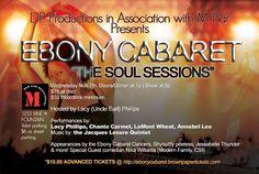#LAmusic, $15, Annabel Lee, Bring Kids, Chante Carmel, Dance/ Movement, DP Productions, Ebony Cabaret The Soul Sessions, Humor, Jessabelle Thunder, LaMont, Live Music, Los Angeles, M Bar, ShyButFlyy, Singing