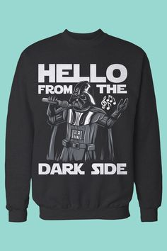 """The perfect gift for Adele and Star Wars fans. I love this - Darth singing """"Hello from the Dark Side"""" <3"""