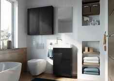 Meble łazienkowe/ bathroom furniture Young Basic Collection Toilet, Vanity, Bathroom, Home, Design, Dressing Tables, Washroom, Powder Room, Litter Box