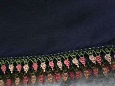 Yapılacak Needlework, Diy And Crafts, Crochet Necklace, Creative, Jewelry, Lace, Tejidos, Needlepoint, Embroidery