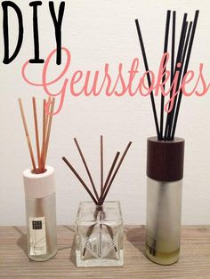 Simple Thoughts - diy geurstokjes