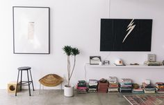 Sally Breer – Interior Designer and Co-Owner of ETCETERA with her team and her Fiance Dan Medina at work and at home in Los Angeles « the selby
