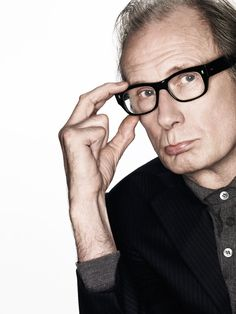 Bill Nighy - he made me ball my eyes out (twice!) in About Time...such eloquence and yet can be so funny