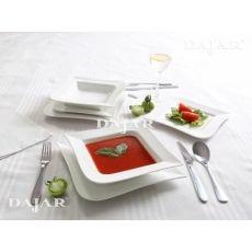 Komplet obiadowy Fala 18-elementowy AMBITION Ambition, Plastic Cutting Board, Tray, Trays, Board