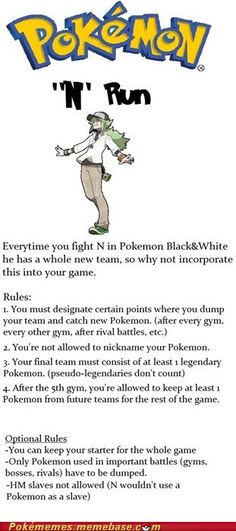 I shall do this, and then catch all of my pokemon on victory road. Then proceed to kill the elite Plus, this allows you to create specific teams for specific gyms. Pokemon Comics, Pokemon Puns, New Pokemon, Pokemon Fusion, Cute Pokemon, Pokemon Stuff, Pokemon Challenge, Black Pokemon, Catch Em All