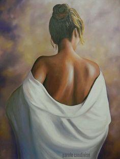 oil on canvas portrait - Painting Woman Painting, Painting & Drawing, Portrait Art, Portraits, Erotic Art, Figurative Art, Female Art, Art Pictures, Watercolor Art
