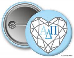 ADPI Diamond Button
