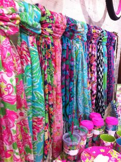 Lilly scarves