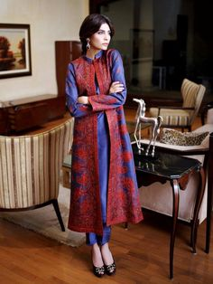 Sana Salman Party Wear Dresses Collection 2014 for Women m