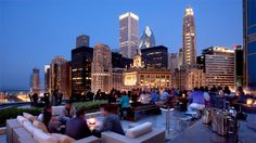 Imagine that a wedding on the rooftop at the trump tower in Chicago...... Gorgeous!!!!!!
