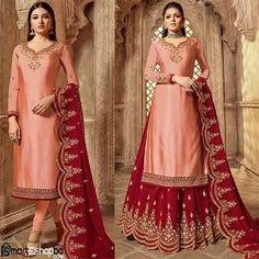 Buy Latest Salwar Kameez, Suits & Designs Online   Smart Eshop BD Wedding Salwar Kameez, Latest Salwar Kameez, Indian Salwar Kameez, Salwar Suits, Kamiz, Premium Brands, Online Shopping Sites, Embroidery Dress, Clothes For Women