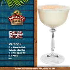 Who loves Coladas? Enjoy this delicious island treat today!