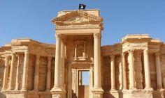 An Islamic State fla