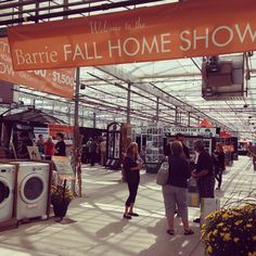 Barrie Fall Home Show is on this weekend at Bradford Greenhouse! Find all you need to spruce up your house! #visitbarrie #fall #homeshow #getoutandplay #barrie tourismbarrie's photo on Instagram