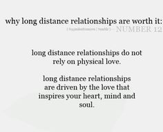 Long distance relationships do not rely on physical love, long distance relation. Long Distance Quotes, Long Distance Relationship Quotes, Relationship Tips, Relationship Pictures, Relationship Problems, People Change Quotes, Cute Quotes, Quotes For Him, Quotes To Live By