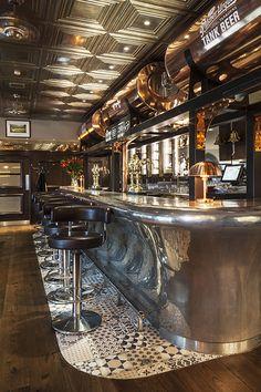 Galvin HOP, Spitalfields, restaurant interior design by DesignLSM. Photography (c) James French Photography
