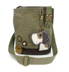 Patch Xbody Bag-Dog (olive)
