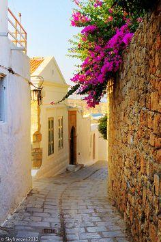 Lindos , Rhodes Island-Dodecanese-Greece