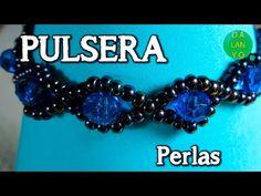 "Tutorial: ""Superiority"" beaded bracelet [EASY] - YouTube"
