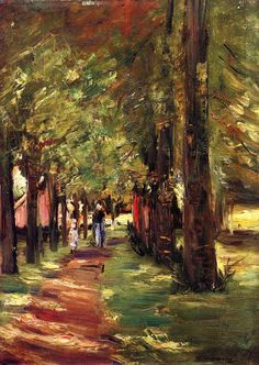 wonderingaboutitall:  The Lane - Max Liebermann