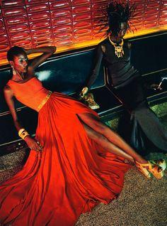 The Black Allure Vogue Italia February 2011 7