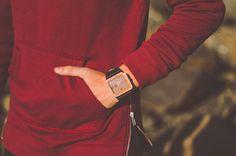 Leafwood, making wood stylish  - The Terra Juglan Orange Watch