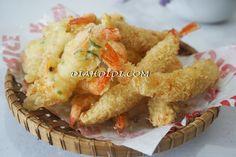 Diah Didi's Kitchen: Dua Olahan Udang Ala Resto Buatan Sendiri Fitness Diet, Health Fitness, Diah Didi Kitchen, Workout Meal Plan, Indonesian Food, Tempura, Meal Planning, Seafood, Fish