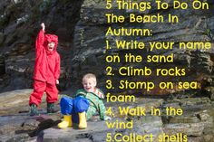 5 things to do on the beach in autumn