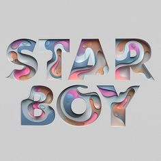 "3,347 Likes, 15 Comments - @handmadefont on Instagram: ""#Star boy by @rikoostenbroek #handmadefont"""