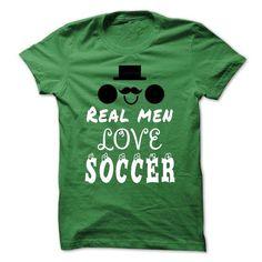 Real men love Soccer