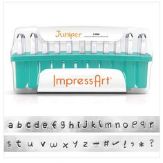 FREE SHIPPING Juniper Lowercase Alphabet Stamps by BuyJust5Supply