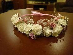 Floral crown for bridal shower
