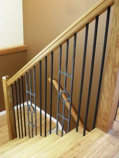 Amazing Contemporary Stair Wood Handrails With Wooden Floor Wooden Steps