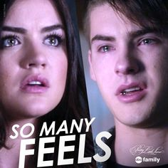 So many feels. | Pretty Little Liars