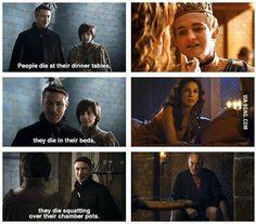 Littlefinger trolling everybody? #GameofThrones