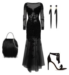 """Untitled #1036"" by cookmary on Polyvore featuring Jovani, Isabel Marant, STELLA McCARTNEY and Alexandre Birman"
