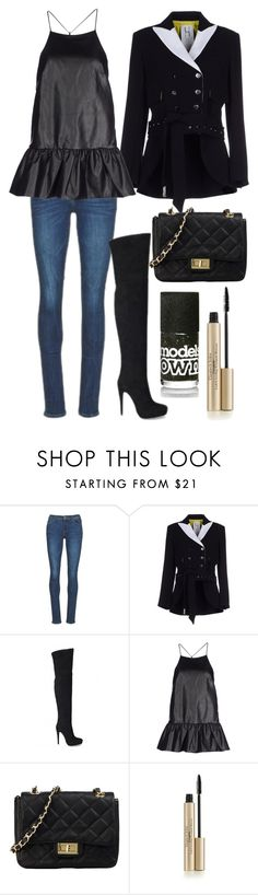 """""""241215"""" by rockingcloset ❤ liked on Polyvore featuring Yurban, UNIQUENESS, Finders Keepers and George J. Love"""