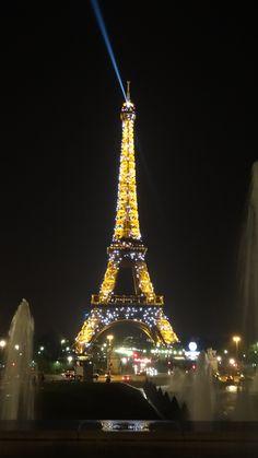 Torre Eiffel vista do Trocadéro