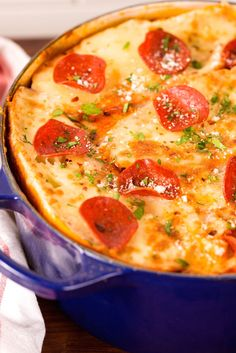 Pizza Soup  - Delish.com
