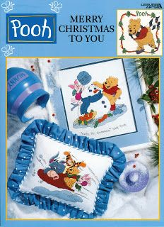 Christmas Craft Collection: POOH MERRY CHRISTMAS TO YOU CROSS STITCH BOOK