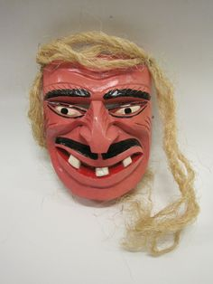 Wooden mask, Mexico. Museon, CC BY