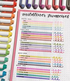 Visit our shop for heaven of stationery😍 - Visit our shop for heaven of stationery😍 credit: La mejor imagen sobre Populares dress - Bullet Journal Markers, Bullet Journal Notes, Bullet Journal Aesthetic, Bullet Journal Writing, Bullet Journal Highlighters, Bullet Journal Materials, Bujo, Stationery Craft, Passion Planner