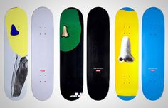 John Baldessari for Supreme Skateboard Decks Supreme Skateboard Deck, Skateboard Deck Art, Skateboard Design, John Baldessari, Skate Art, Takashi Murakami, Skate Decks, List Of Artists, Skateboards