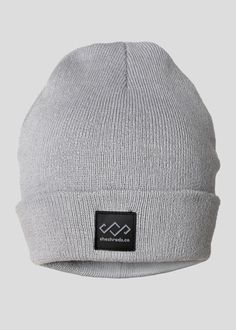 2ac70a42c98 Classic Grey Knit Hat To Rock This Winter We know it s always essential to  grab a new beanie for snowboard and ski season. The SheShreds Crown Grey  Knit Hat ...