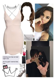 """""""But you got a Princess complex. She ain't gon play that shiittt."""" by allie-blair ❤ liked on Polyvore featuring Boohoo, NARS Cosmetics, Gianvito Rossi, MICHAEL Michael Kors, MAC Cosmetics and Edition"""