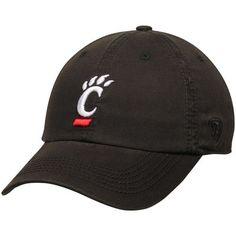 hot sale online ce322 ea299 Cincinnati Bearcats Top of the World Solid Crew Adjustable Hat - Black
