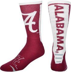 Alabama Crimson Tide Jump Key Sock | DICK'S Sporting Goods