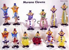 Image detail for -Murano Art Glass: Murano Clowns